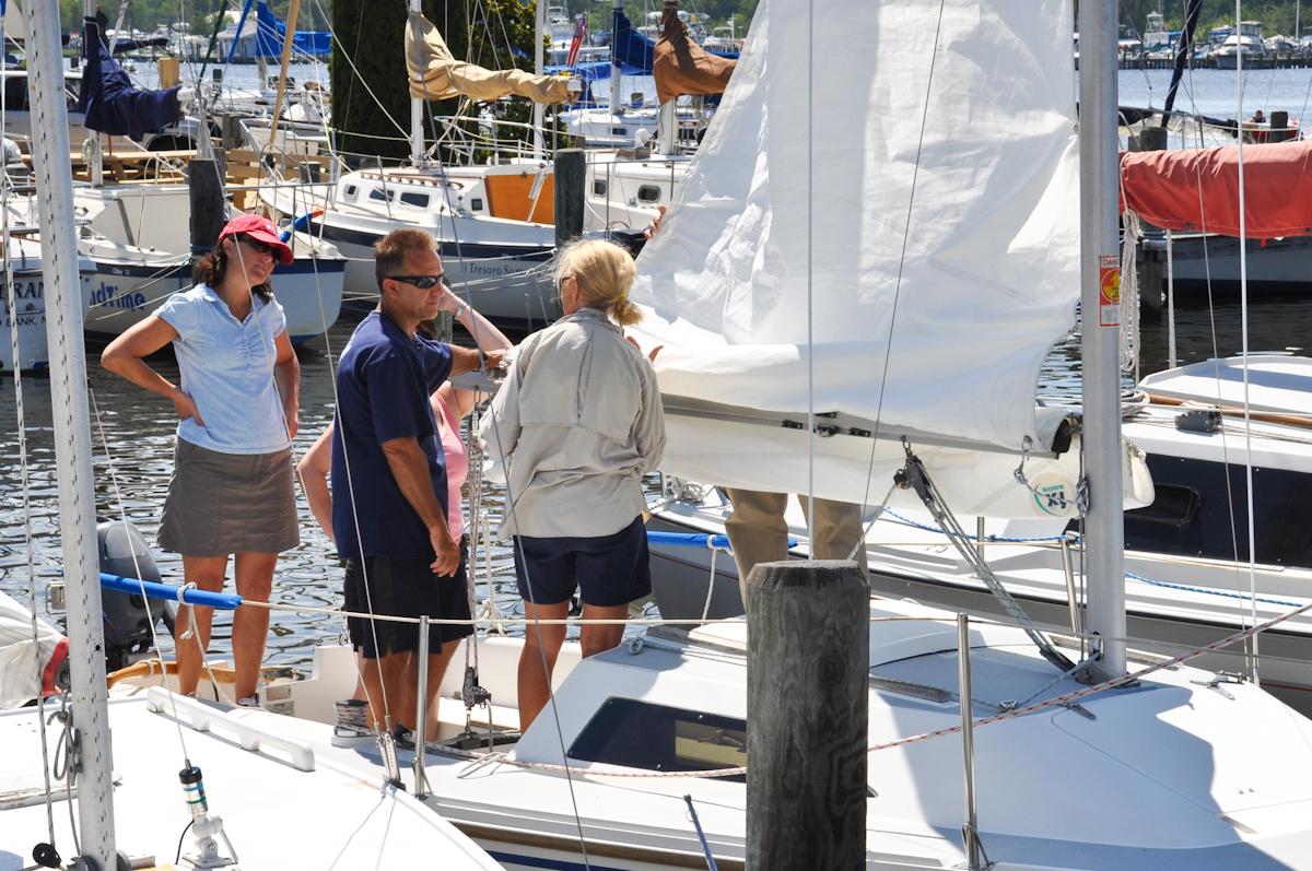 Asa Sailing Lessons By Barnegat Bay Sailing School