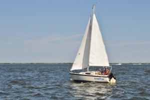 New Jersey Sailing School and Sailboat Charter - Barnegat Bay - Island Time